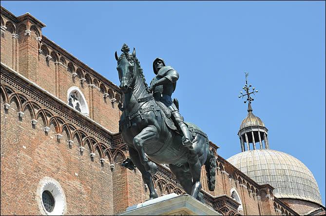 Statue équestre de Bartolomeo Colleoni