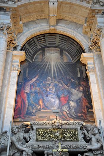 La descente du Saint Esprit du Titien